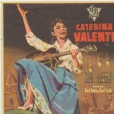 Cine: BONJOUR KATHRIN. SENCILLO DE CIRE FILMS. SALA EDISON - FIGUERAS. ¡IMPECABLE!. Lote 40967136