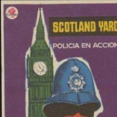 Cine: SCOTLAND YARD. POLICÍA EN ACCIÓN. SENCILLO DE ROSA FILMS.. Lote 41005344