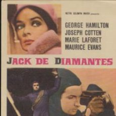 Cine: JACK DE DIAMANTES. SENCILLO DE MGM.. Lote 41005519