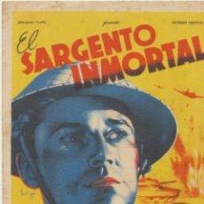 Cine: EL SARGENTO INMORTAL. SOLIGÓ. SENCILLO DE 20TH CENTURY FOX.. Lote 41013315