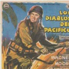 Cine: LOS DIABLOS DEL PACÍFICO. SENCILLO DE 20TH CENTURY FOX.. Lote 41013345
