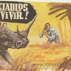 Cine: ¡DEJADLOS VIVIR! SENCILLO DE MERCURIO.. Lote 41040313