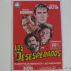 Cine: LOS DESESPERADOS. Lote 41211724