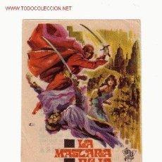 Cine: -54035 LA MASCARA ROJA. CON LUCIANA GILLI, MEL WELLES. DIRECTOR FERNANDO CERCHIO,CON PUBLICIDAD. Lote 41228042