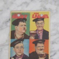Cine: PROGRAMA DE CINE - DOS PARES DE MELLIZOS - 1936 - PUBLICIDAD. Lote 41322152