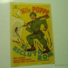 Cine - PROGRAMA EL RECLUTA BOM - NILS POPPE -PUBLICIDAD - 41373676