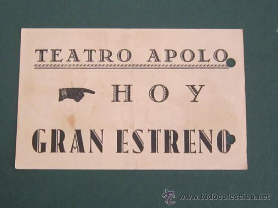Cine: PROGRAMA DE CINE - NEGOCIO EN APUROS - 1938 - PUBLICIDAD - DOBLADO - Foto 2 - 41403001