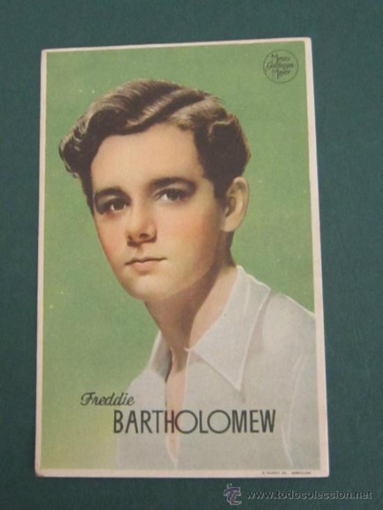 PROGRAMA DE CINE - FREDDIE BARTHOLOMEW - 1944 (Cine - Folletos de Mano - Aventura)