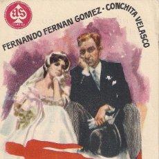 Cine: FOLLETO DE MANO - CRIMEN PARA RECIEN CASADOS. CINE PALAFOX ZARAGOZA 1960. Lote 41462324