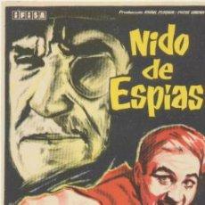 Cine: NIDO DE ESPÍAS. SENCILLO DE IFISA.. Lote 41483760