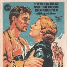 Cine: FOLLETO DE MANO - CUANDO LLEGUE LA PRIMAVERA. CINE DORADO. ZARAGOZA 1958. Lote 41496439