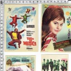 Cine: LOTE 4 FOLLETOS PROGRAMAS DE MANO CINE.. Lote 68467753