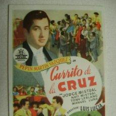 Cine: CURRITO DE LA CRUZ.F-954. Lote 41784814