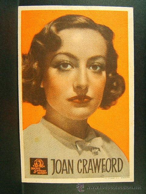 ANIMA DE BALLARINA-R.Z.LEONARD-JOAN CRAWFORD-CLARCK GABLE-CINE PRINCIPAL MODERN-EN CATALAN-1936 (Cine - Folletos de Mano - Drama)