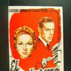 Cine: EL ANONIMO-JOSE OCHOA-SUSANA CANALES-JULIO PEÑA-MARI DELGADO-ILUSTRADO POR JANO-PENTA CINE-(1956). Lote 41873530