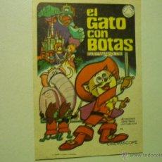 Cine: PROGRAMA EL GATO CON BOTAS.-. Lote 41924762
