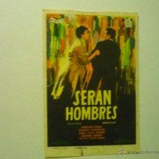 Cine: PROGRAMA SERAN HOMBRES.-PACO RABAL. Lote 42161704
