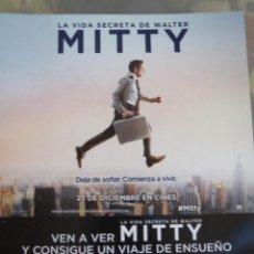 Cine: LA VIDA SECRETA DE WALTER MITTY. Lote 42166920