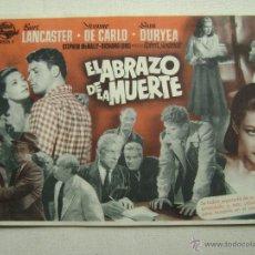 Cinema - EL ABRAZO DE LA MUERTE.F-996 - 42210162