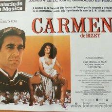 Cine: CARMEN DE BIZET (CON PUBLICIDAD). Lote 42337470
