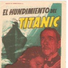 Cine: EL HUNDIMIENTO DEL TITÁNIC - BARBARA STANWYCK, ROBERT WAGNER - DIRECTOR JEAN NEGULESCO - SOLIGO. Lote 42442964