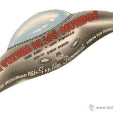 Cine: LA GUERRA DE LOS MUNDOS - GENE BARRY, ANN ROBINSON - DIRECTOR BYRON HASKIN - PARAMOUNT - TROQUELADO. Lote 42468142