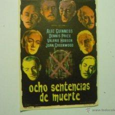 Cinema - PROGRAMA OCHO SENTENCIAS DE MUERTE.-ALEC GUINNES- - 42478962