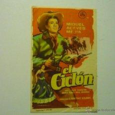 Cine: PROGRAMA EL CICLON-MIGUEL ACEVES MEJIA.-PUBLICIDAD CINE GLORIETA. Lote 42494311