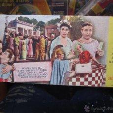 Cine: MUCHACHOS DE SIRACUSA - IDEAL CINEMA BENICARLO 1946. Lote 42588517