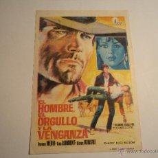Cine: EL HOMBRE, EL ORGULLO Y LA VENGANZA. SIN PUBLICIDAD. Lote 42676049