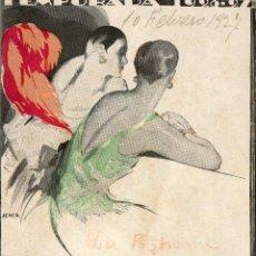 Cine: LIBRETO CON 18 HOJAS TENPORADA 1926-27 -GRAN TEATRO DEL LICEO-LA BOHEME. Lote 42729776