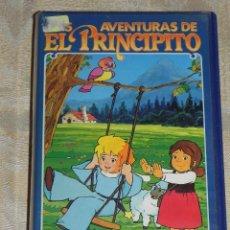 Cine: VENDO VIDEO VHS (EL PRINCIPITO) Y DE REGALO OTRA PELICULA (FOOFUR EN EL EJERCITO) VER FOTOS.. Lote 114268864