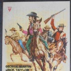 Cine: FUERA DE LA LEY, FOLLETO DE MANO, (4393) , JANO ,CONSERVACION:. Lote 43002908