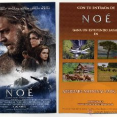 Cine: NOÉ, CON RUSSELL CROWE.. Lote 178312775