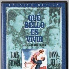 Cine: DVD QUÉ BELLO ES VIVIR. Lote 43031725