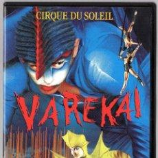 Cine: DVD CIRQUE DU SOLEIL - VAREKAI. Lote 43031727
