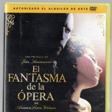 Cine: DVD EL FANTASMA DE LA OPERA.. MUSICAL. DE JOEL SHUMACHER. Lote 43031732