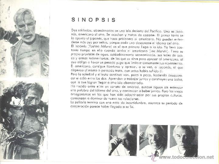 Cine: Programa Infierno en el Pacífico De John Boorman Con Lee Marvin y Toshiro Mifune - Foto 3 - 43040413