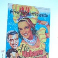 Cine: FOLLETO ORIGINAL PELICULA CINE - PROYECTADA EN ELCHE. Lote 43057442