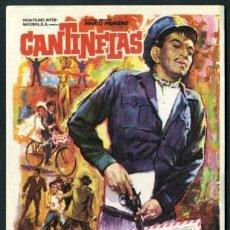 Cine: ENTREGA INMEDIATA - AÑO 1963 - ( CANTINFLAS ) FOLLETO DE MANO ORIGINAL MUY BONITO . Lote 52826587