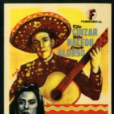 Cine: EL GALLERO - AÑO 1948 - FOLLETO DE MANO ORIGINAL. Lote 43106945