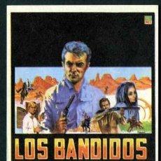 Cine: LOS BANDIDOS - AÑO 1967 - FOLLETO DE MANO ORIGINAL. Lote 43248494