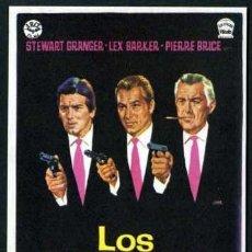 Cine: LOS MATONES - AÑO 1966 - FOLLETO DE MANO ORIGINAL. Lote 50569821