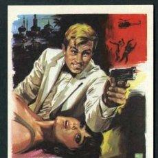 Cine: RETO A LOS ASESINOS - AÑO 1966 - FOLLETO DE MANO ORIGINAL. Lote 43259207