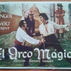 Cine: PROGRAMA DE EL ARCO MÁGICO. Lote 43267774
