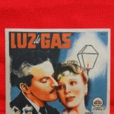 Cine: LUZ DE GAS, SENCILLO GRANDE 1943, DIANA WYNYARD, CON PUBLICIDAD CONDAL. Lote 43280050