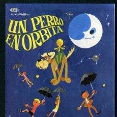 Cine: UN PERRO EN ORBITA - AÑO 1967 - FOLLETO DE MANO ORIGINAL. Lote 43292213