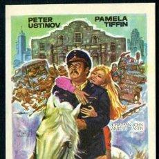 Cine: VIVA MAX ! - AÑO 1969 - FOLLETO DE MANO ORIGINAL. Lote 80994064