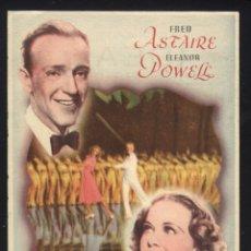 Cine: P-3984- LA NUEVA MELODIA DE BROADWAY (CINE IDEAL - ALICANTE) (FRED ASTAIRE - ELEANOR POWELL). Lote 43379938