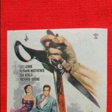 Cine: BESTIAS DE LA CIUDAD, IMPECABLE SENCILLO, LEE J. COBB KERWIN MATHEWS, CON PUBLICIDAD AVENIDA REUS. Lote 43387401